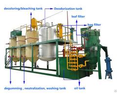 Mini Palm Oil Refining Production Line