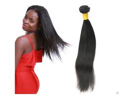 8a Brazilian Straight 1 Bundle 100 Percent Human Virgin Hair Weave