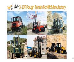Welift3 10 Rough Terrain Forklift Manufactory