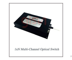 1×n Multi Channel Rotary Optical Switch