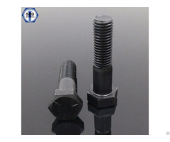 Hex Bolts Sae J429 Gr2 Gr5 Gr8 With Hexagonal Zinc Plated