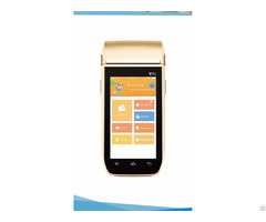 Handheld Mobile Smart Pos System Terminal Autoid Dj V60