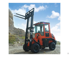 Three Ton Rough Terrain Diesel Forklift Truck
