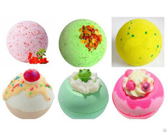 Explode Bath Salt Ball Oem Natural Essential Oil Bathbombs