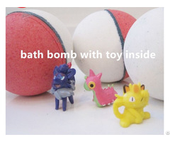 High Quality Private Label For Kids Bath Bombs With Toy Inside Surprise Gift