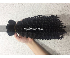 Cambodian Vietnamese Hair 14 Inches Curly Weave