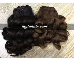 Double Drawn 8 Inches Weave Vietnamese Hair Straight