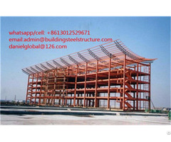 Multi Story Steel Structure Office Building