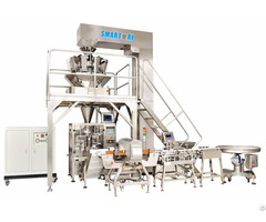 Automatic Snack And Food Packaging Machine