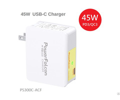 Powerfalcon 45w Pd Charger Foldable