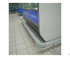 Cheap Price Supermarket Aluminum Alloy Crash Protection Barrier Series Supplier