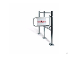 Specially Designed Easy Open Stainless Steel Cashier Checkout Access Gate