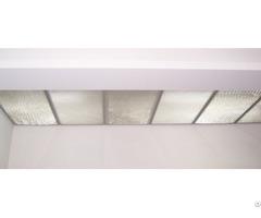 Glass Honeycomb Core Lighting Shed