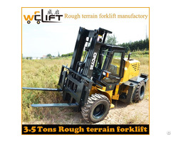 Three Ten T Forklift Off Road Rough Terrain