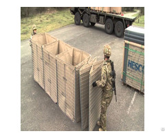 China Supply Military Sand Wall Hesco Barrier