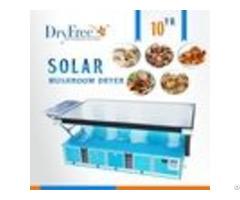 100% Environmental Protection Morchella Solar Tray Dryer