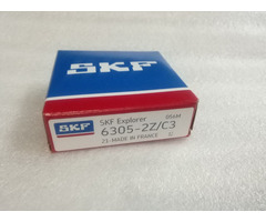Original Skf Bearing 6305 2z C3 2rs2 C3gfg Chrome Steel Electric Machinery 256217mm