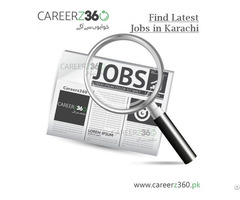 Latest Jobs In Karachi Pakistan