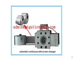 Premium Plastic Extruder Stainless Steel Filter Belt