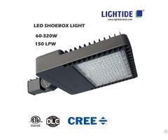 Cree Led Shoebox Area Lights, 320w, 7 Yrs Warranty