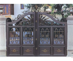 Latest Main House Aluminum Gate Grill Designs For Exterior