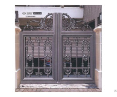 Aluminum Alloy Entrance Gate Grill Designs For Home