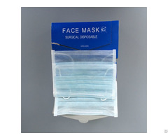 Disposable Breathable Protective Food Medical 2 3 Ply Elastic Non Woven Face Mask