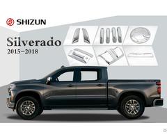 Chevrolet Silverado 2015 2018 Accessories Plastic Chrome