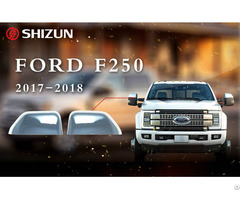 Ford F 250 F250 2018 Side Mirror Cover Plastic Chrome