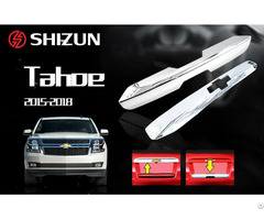 Chevrolet Tahoe Tailgate Trunk Lid Chrome Trim