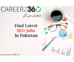 Seo Jobs In Lahore