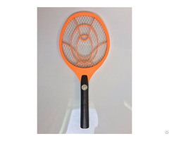 Rechargeable Swatter Electrical Mosquito Zapper Racket With Led Light
