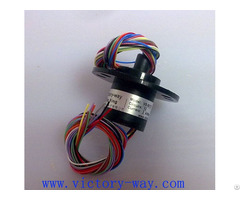 Standard Capsule Slip Ring With 12 Channels In Cctv Monitoring System Vsr Sc12