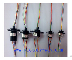 Standard Capsule Slip Ring 24 Ways For Rotary Tables