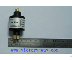 Double Channels High Current Slip Ring In Rotary Tables Test Equipment Or Cable Reels