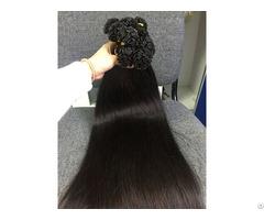 Vietnamese Hair Flat Tip Straight #1b 24 Inches