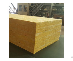 Durable Low Thermal Conductivity Rock Wool Outside Surface Board