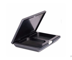 High Quality 10g C048 2 Color Square Black Empty Compact