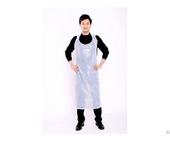 High Quality Disposable Poly Apron Producing With 100% All New Material And Not Any Impurities