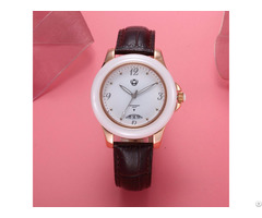 Xinboqin Wholesale Retail Sale Charm Luxury Leather Strap Quartz Calendar Waterproof Lady Watches