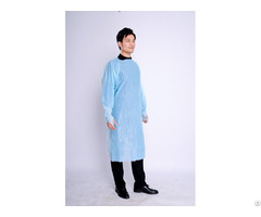 High Quality Medical Disposable Cpe Protective Gown Impervious