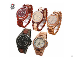 Xinboqin Factory Custom Water Proof Couple Wooden Watch Odm Oem