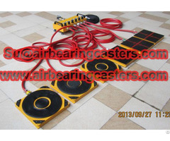 Air Bearing Caster Can Easily Move Your Heavy Duty Equipment