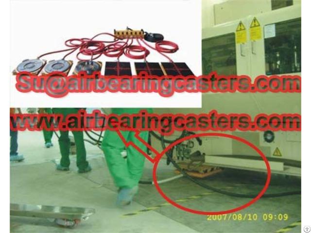 Air Bearing Rigging System