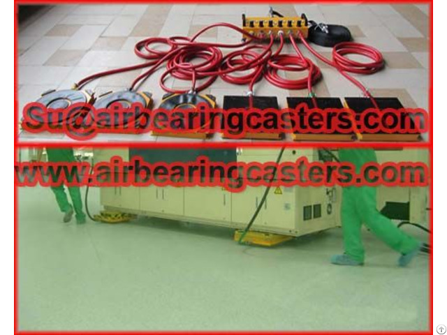Air Bearing And Caster Advantages