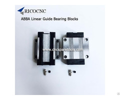 Abba Linear Guide Bearings Slider Blocks For Cnc Machines