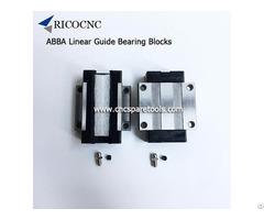 Abba Linear Guide Bearings Slider Blocks For Cnc Machines