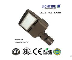 Ce And Etl Certified Slim Led Street Area Lights 60 Watts 5 Yrs Warranty