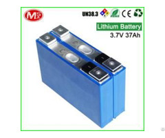 Ncm Lithium 3 7v 37ah For Ev Storage Solar Power System Battery