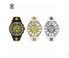 Xinboqin Big Dial Waterproof Stainless Steel Luxury Mens Watch Amazon Small Order Batch Custom